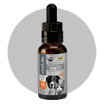 Treatible 250mg Organic Full Spectrum Hemp Oil Dropper Bottle (dogs over 50lbs)