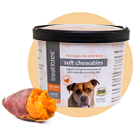 NEW! Treatibles Hemp Soft Chews Tater's Sweet Potato Tots for Dogs (60ct.)