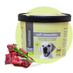 Treatibles Hemp Soft Chews Beef Liver for Dogs (60 ct.)