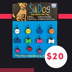 * Silly Dog Tag --- Help Frosted Faces Foundation