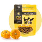 Treatibles Balance (Pumpkin Flavor) Hard Chews Small Dog 1mg
