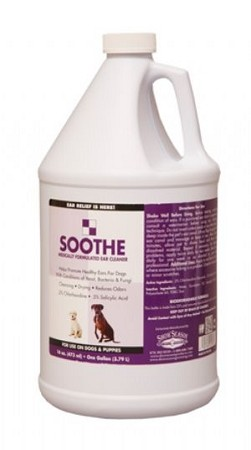 Soothe Medicated Ear Wash:For Use On Dogs & Puppies Only